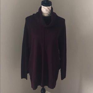 Cynthia Rowley cowl neck sweater
